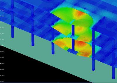 Airmen Dormitory Bldg, Westover Air Reserve Base – Progressive Collapse Analysis