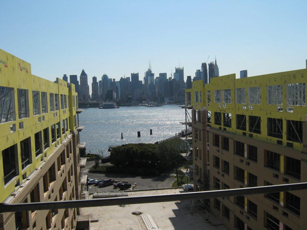 Wind loads affect building exterior