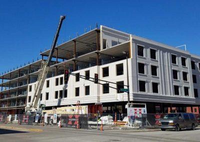 Hotel Cold-Formed Steel Framing Structural Design